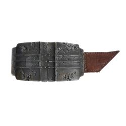 Guardians of the Galaxy Star Lord Belt Buckle