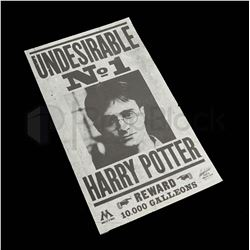 Harry Potter & The Deathly Hallows Undesirable Flyer