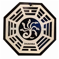 """LOST Dharma """"Hydra"""" Station Sign"""