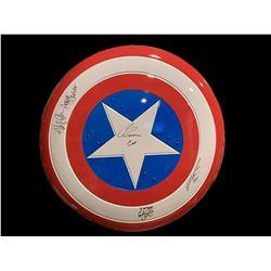 Captain America Replica Signed Shield