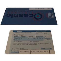 LOSt Christian Shepard  Oceanic Ticket