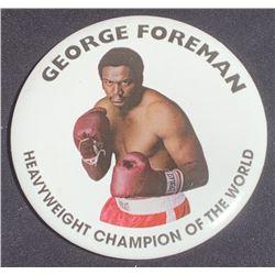 Ali (2001) - George Foreman Boxing Match Badge