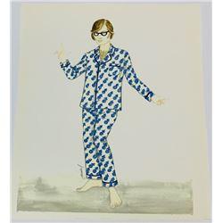 Austin Powers: The Spy Who Shagged Me (1999) - Austin Powers Pajamas Outfit Costume Design