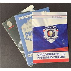 Avengers: Age of Ultron (2015) - Sokovia Police Booklets