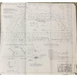 Batman Begins (2005) - Monorail Controls Production Blueprint