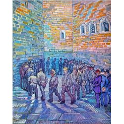 Van Gogh - Prisoners Walking The Round