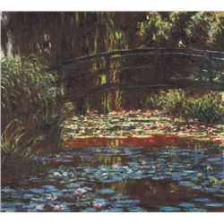 Claude Monet - Water Lily Pond #1
