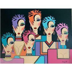 """Audrey Cohle """"Six Women"""""""