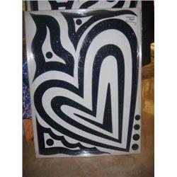 "Jozza ""Heart (Black & White)"""