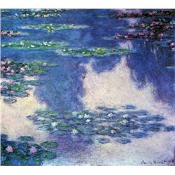 Claude Monet - Water Lilies, Water Landscape #4