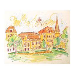 Chateau Vaudieu, Chateauneuf-du-Pape (France) by Ensrud Original