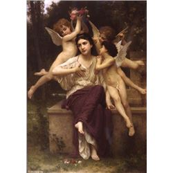 William Bouguereau - Ave de Printemps