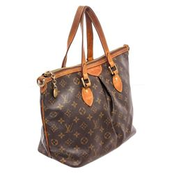 Louis Vuitton Monogram Canvas Leather Palermo PM Bag