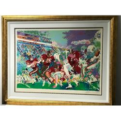 """Post Season Football Classic"" by LeRoy Neiman (1921-2012)"