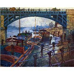 Claude Monet - The Coal Carrier