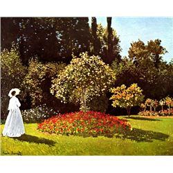 Claude Monet - Woman in the Garden