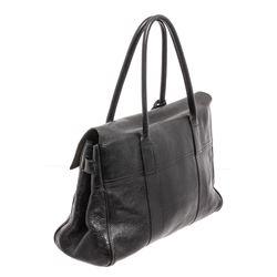 Mulberry Black Leather Medium Shoulder Bag