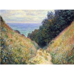 Claude Monet - Pourville #1
