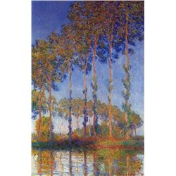 Claude Monet - Poplars in the Epte, Sunset