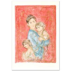Sonya and Family by Hibel (1917-2014)