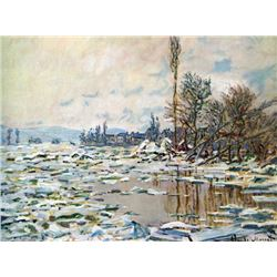 Claude Monet - Break Up of Ice
