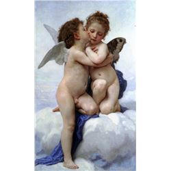 William Bouguereau - First Kiss
