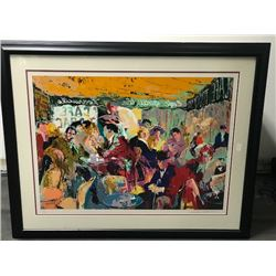 Cafe Rive Gauche by Leroy Neiman