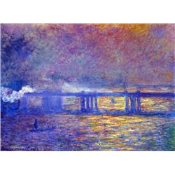 Claude Monet - Charing Cross Bridge