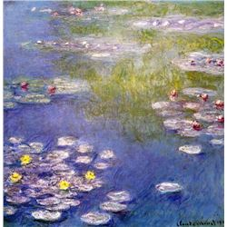 Claude Monet - Nympheas at Giverny