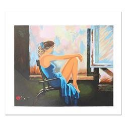Lady In Blue by Borewko, Alexander