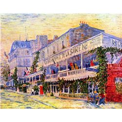 Van Gogh - The Restaurant De La Siren In Asnieres