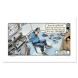 Cat Burglar by Bizarro
