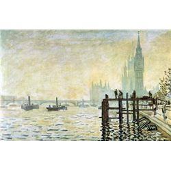 Claude Monet - Westminster Bridge in London