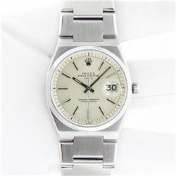 Rolex Mens Stainless Steel Vintage 1530 Date Wristwatch With Rolex Box Super Rar