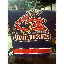 30x50 inch NHL BANNER - BLUE JACKETS