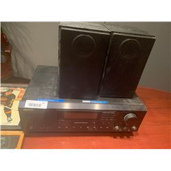 Onkyo stereo receiver with speakers