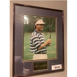 Framed & Signed Fred Couples Picture