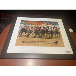 Riders of America Stampede Framed Poster