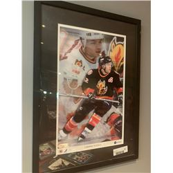 Framed Photo of Jarome Iginla