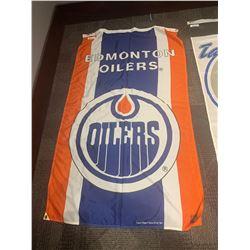 30x50 NHL BANNER -OILERS