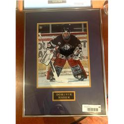 Framed and Signed with certificate - Dominik Hasek