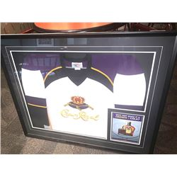 Large Framed Jersey - Crown royal