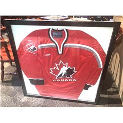 Large Framed Jersey - Team Canada