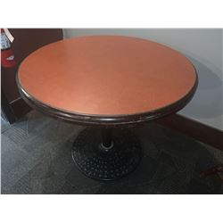 Single Pedestal 34 inch restaurant table