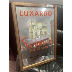 Framed Luxardo Mirror