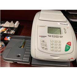 Neopost postage meter and scale system