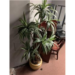 Artificial 5 ft potted plant