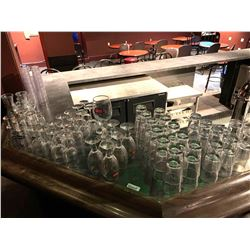 Lot of approx 80 pieces bar glassware