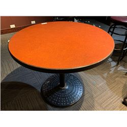 Single Pedestal 34 inch round table