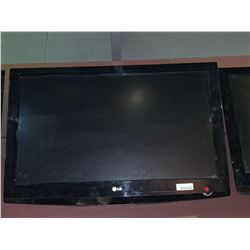 LG LCD Television - 39 inch - Lot of one - buyer must take down from mounts - no remote, no mounts.